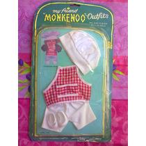 Set De Ropa Cosinero De Muneco Chobis O Monkenoo Vintage