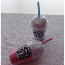 Toallita Malteada Starbucks Personalizada Toalla Recuerdito