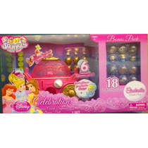 Princesas Dispensador Squinkies Con Set Cenicienta Y Mas