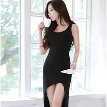 Vestido Largo Y Corto Ubico Sexy Casual Elegante Mn4