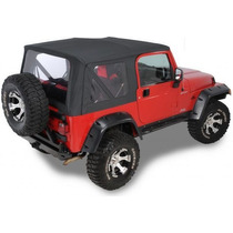 Toldo Suave Para Jeep Con Herrajes Y Ventanas Delanteras