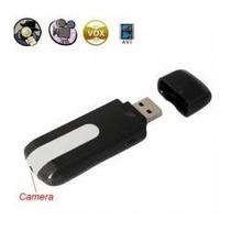 Camara Espia Tipo Usb Con Video Fotos Detector De Movimiento