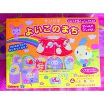 Hello Kitty Set Armable De Cartoncillo De Floreria