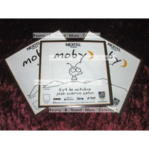 Moby 3 Stickers Jose Cuervo Salon De Coleccion!!