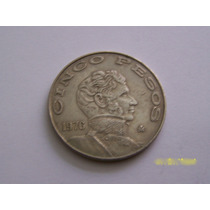Se Vende Un Lote De 24 Monedas De 5 Pesos.