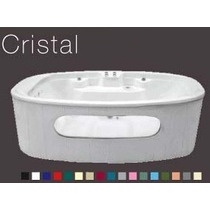 Tina Cristal Hidrojets Masaje Spa Calentador Electrico Vbf