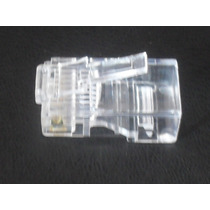 Conector Plug Rj-45 Cat-5e Utp,red,ethernet,8 Hilos4paresvv4