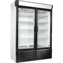 Refrigerador American Hussman 2 Puertas De Cristal