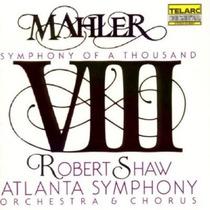 Robert Shaw - Mahler Sinfonía 8 Cd Daa Bach Clasica Brahms