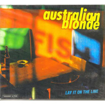 Australian Blonde - Lay It On... ( Banda Española ) Cd Indie