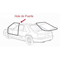 Hules Para Puertas Y Cajuela Ford Mustang 1979