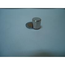 2 Imanes Cilindricos De Neodimio De 12.5x12.5mm