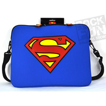 Superman Dc Comics Maletin Laptop Mensajero 100% Original