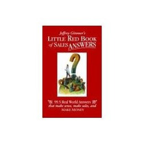 Libro Little Red Book Of Sales Answers, Jeffrey Gitomer´s