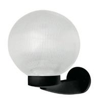 Lámpara Para Exteriores Circular Con Esfera De Cristal