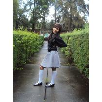 Uniforme Escolar Falda Señorita Escoses Y Varios