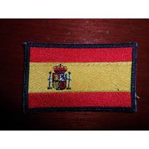 Parche Escudo Bordado Bandera Espana