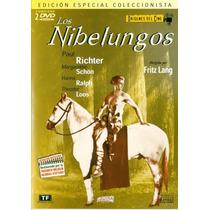 Los Nibelungos Parte 1 Y Parte2 Fritz Lang Paul Richter 1922
