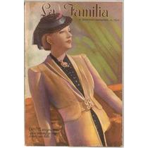 Revistas La Familia Moda Belleza Manualidades De 1939