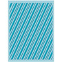 Scrapbook Cuttlebug Folder Para Repujado Candy Cane Stripe