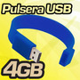 Pulsera Usb 4gb Memoria Factura Mayoreo Nueva 4 Gb Colores