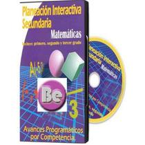 Planeación Interactiva Secundaria Matematicas 1 Cd Rom