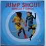 Lisa Brincos Y Gritos (jump Shout) Lp Maxi-single Hi-nrg.