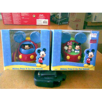 Lote De 2 Vehiculos De Mickey Mouse