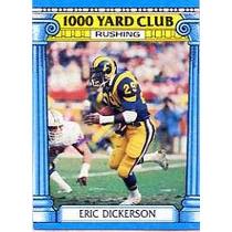 1987 Topps 1000 Yard Club #1 Eric Dickerson Carneros Sv9