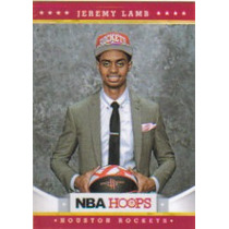 2012-13 Hoops #286 Jeremy Lamb Rc Rockets
