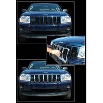 Inserto De Parrilla Cromado Jeep Grand Cherokee 05 06 07 08