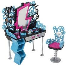 Monster High Abbey Cama Frankie Vanity Peinador Tocador Fdp