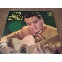 Disco Acetato De Cuco Sanchez Con Acompañamiento De Mariachi