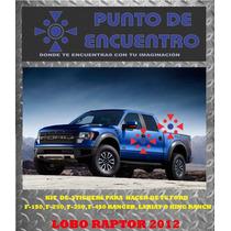 Stickers Vinil Lobo Raptor 2012 Pick Up