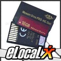 Nueva! Memoria Memory Stick Pro Duo Hg 16gb Magicgate Psp