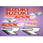 Kit De Stickers Calcomanias Para Moto Suzuki Gsx-r750 Año 89