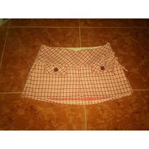 Mini Abercrombie&fitch Talla 0 Mex 5-7 Lana Ext-seda Int