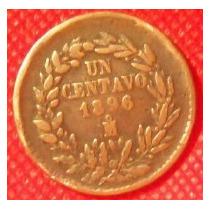 1 Centavo 1896 México Presidente General Porfirio Díaz - Vbf
