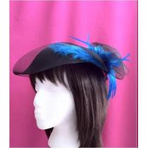 Tocados Para Peinados Tipo Sombrero