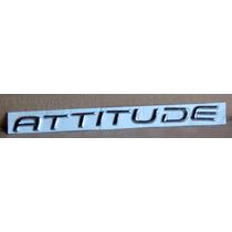 Emblema Leyenda Attitude - Juego De Letras Leyenda Attitude