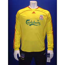 Playera Liverpool F.c Manga Larga Formotion 2006 / 2007