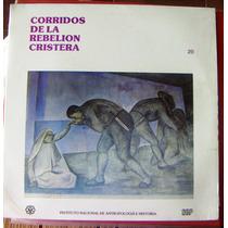 Bolero, Corridos De La Rebelion Cristera, Lp 12´, Hwo.