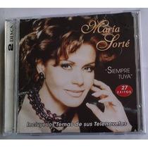 Maria Sorte Siempre Tuya 2 Cds 27 Exitos 1a Ed 1998 Bvf