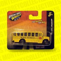 Transporte Escolar School Bus Maisto Tipo Hot Wheels