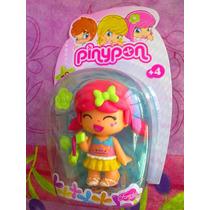 Pinypon Munequita Pelo Rosa Con Colitas A La Moda Modelo 16