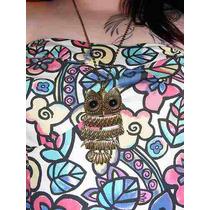 Collar Cadena Buho Dije Cristal Hippie-chic.oferta.fashion