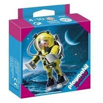 Playmobil 4747 Especial Astronauta Cohete Espacial Retromex¡