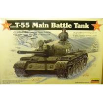 Tanque De Guerra T-55 Main Battle Tank Escala 1:35 Lindberg