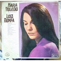 Brasil, Maria Toledo, Acompañada Por Luiz Bonfa, Lp 12´ Idd