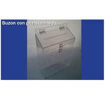Buzon De Acrilico